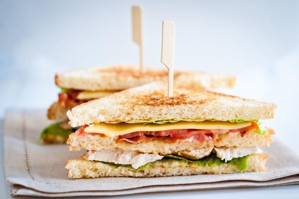 Мини-сендвич с курицей