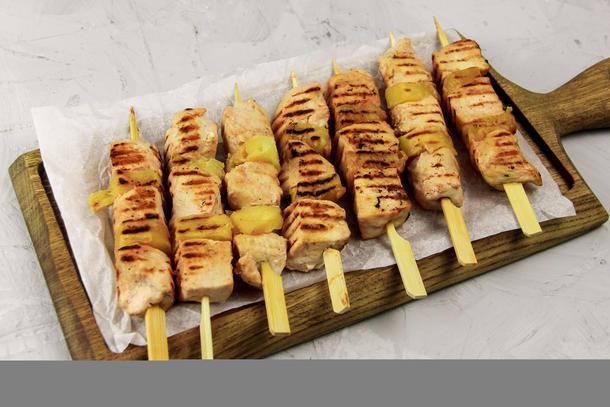 Шашлычок курица/ананас
