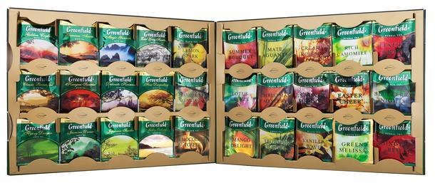 Чай Гринфилд в ассортименте пакетированный