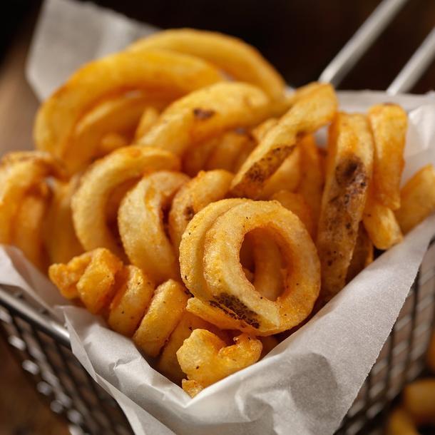 Фигурный картофель фри