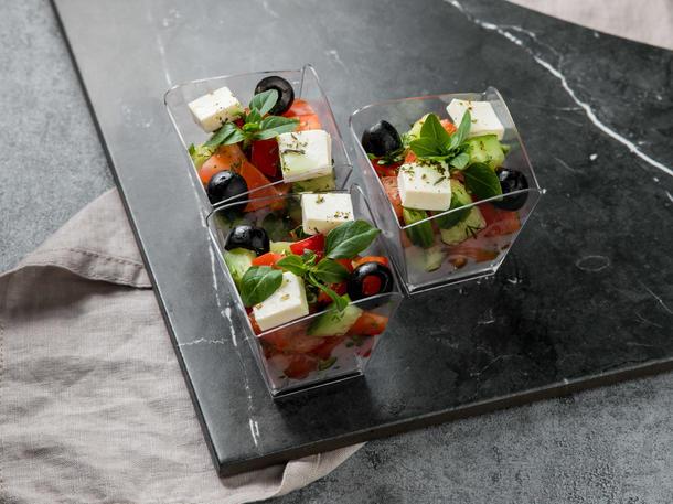 Фуршетный салат Греческий