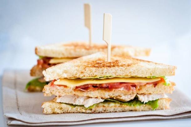 Мини-сендвич с индейком