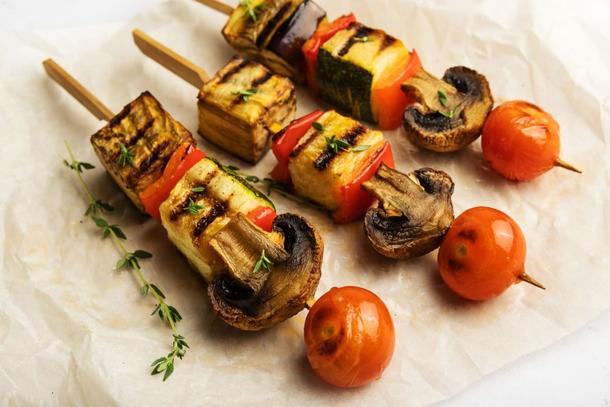 Шашлычок овощной