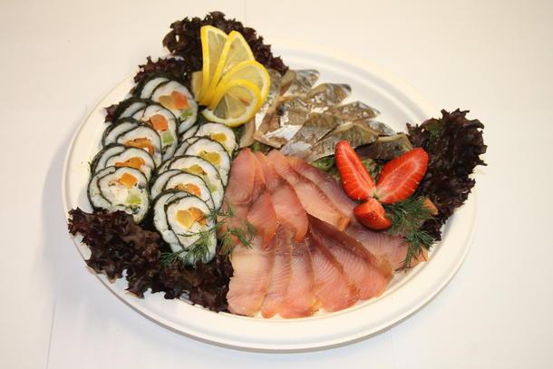Ассорти рыбных деликатесов Домашнее