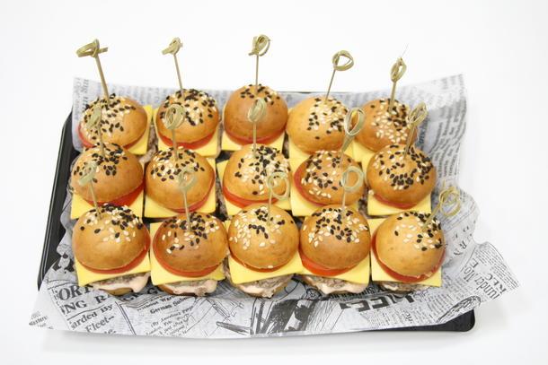 Чикенбургер мини (15 шт.)