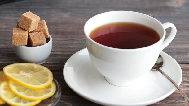 Чай черный, зеленый, фруктовый в саше (лимон, сахар)