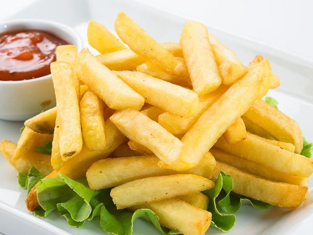 """Картофель """"Фри"""" с кетчупом"""