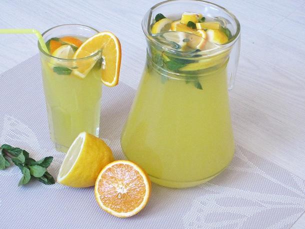Лимонад домашний собственного приготовления