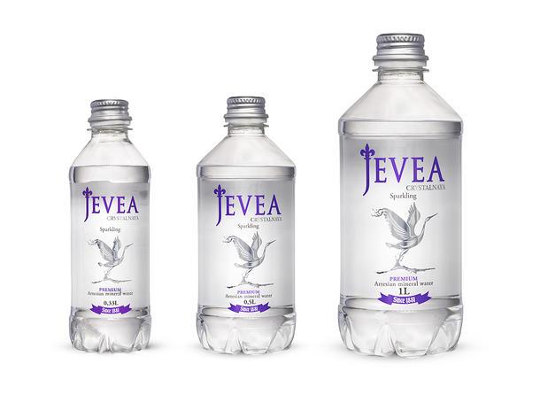 """Минеральная вода """"Jevea"""" (с/г)"""