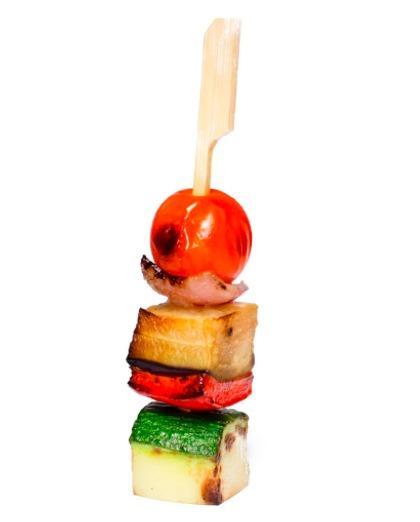Мини-овощной шашлычок