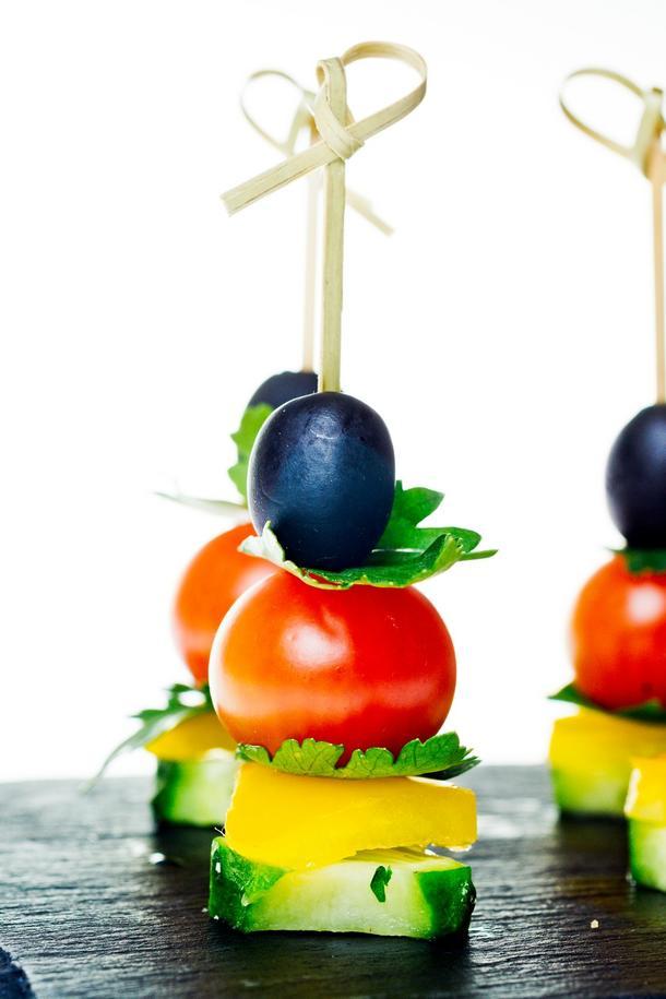 Овощные канапе
