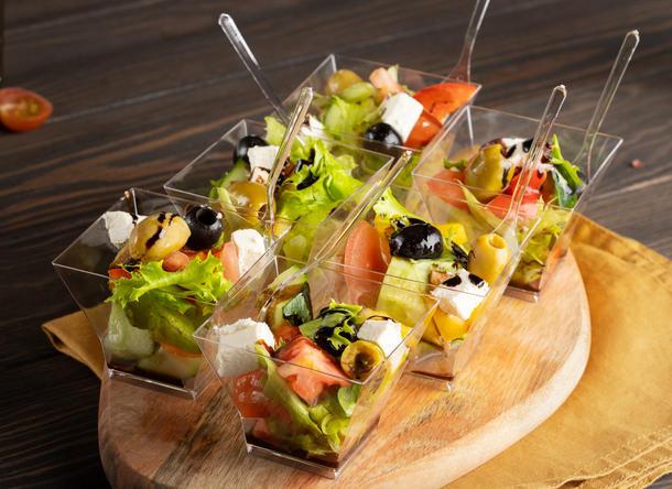 Греческий салат в веррине
