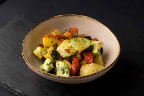 Картофель по-средиземноморски