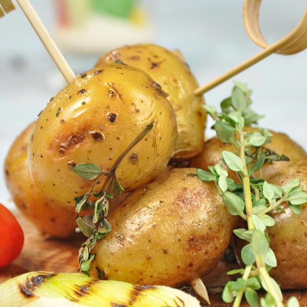 Мини - картофель запеченый с розмарином