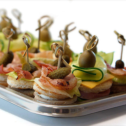Ассорти мини-сэндвичей #4124шт