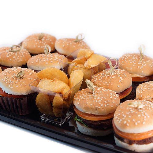 Блюдо с бургерами #7412шт