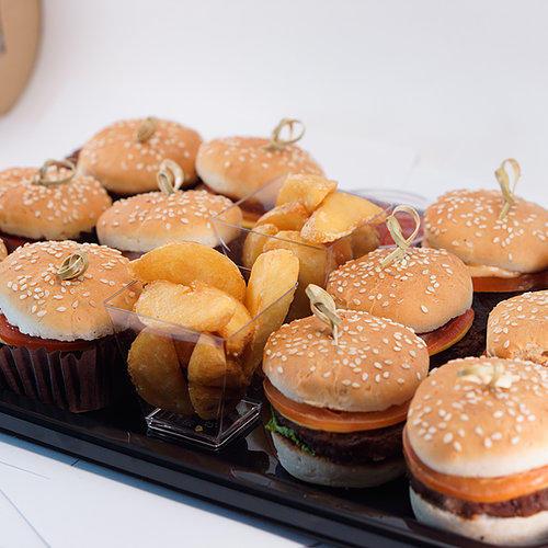 Блюдо с бургерами #74 12шт