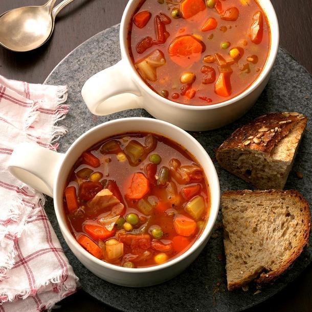 Пряный суп из овощей