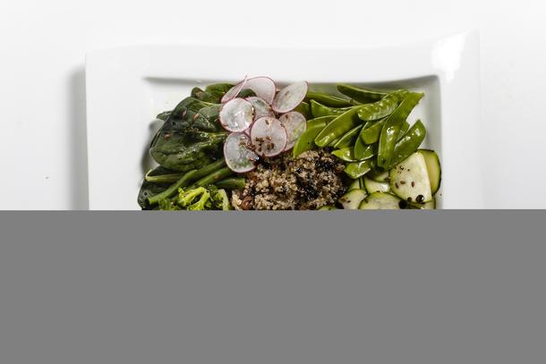 Кобб салат овощной