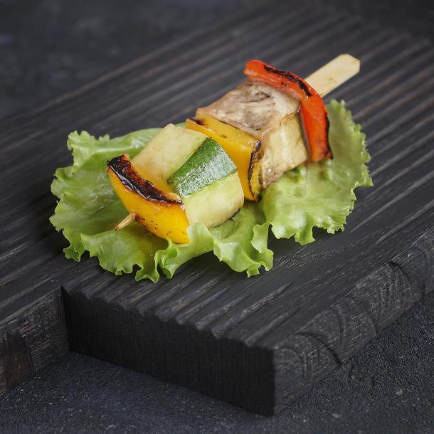 Мини-шашлык овощной