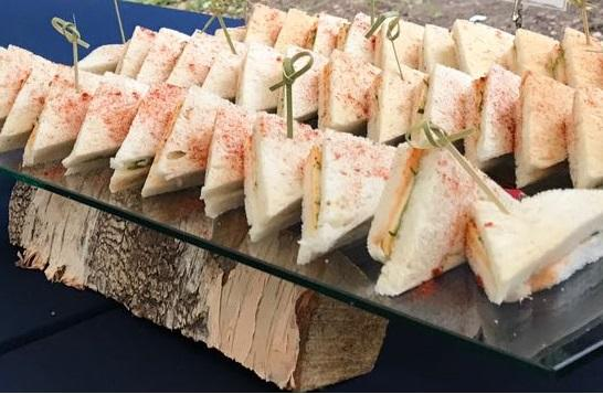 Мини сэндвич с сыром и свежими овощами (2 шт.)