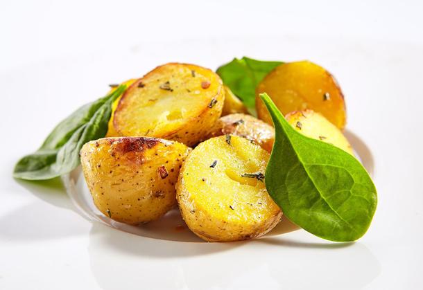 Картофель Черри с розмарином