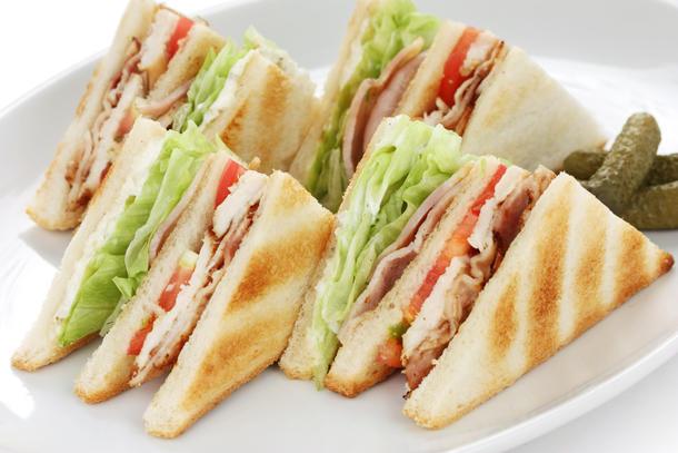 Клаб сендвич ассорти