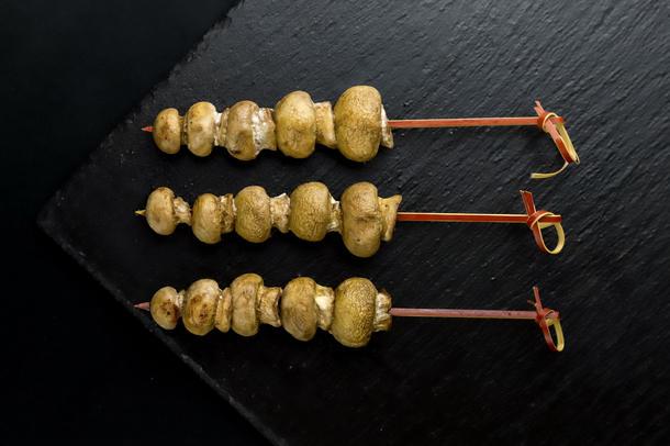 030гз Шашлык с грибами
