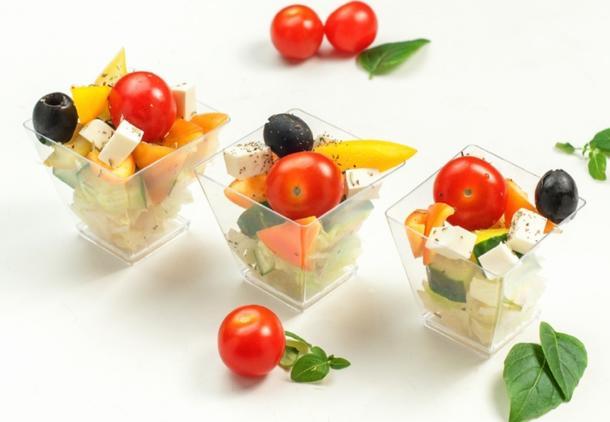 Канапе-салат Греческий
