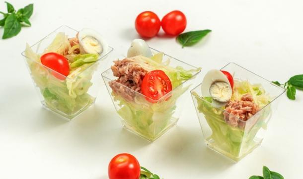 Канапе-салат Нисуаз