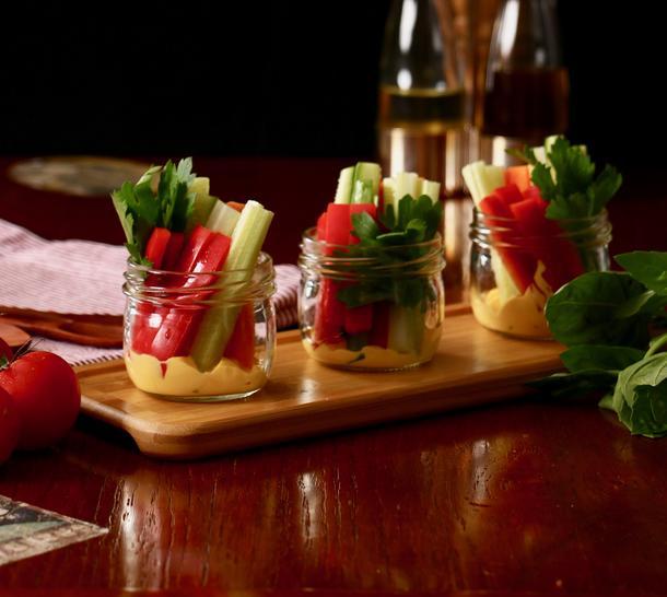 Овощной мини-стаканчик