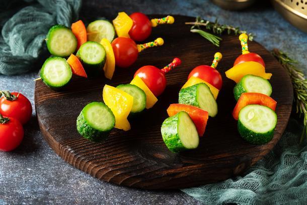 Овощные шпажки