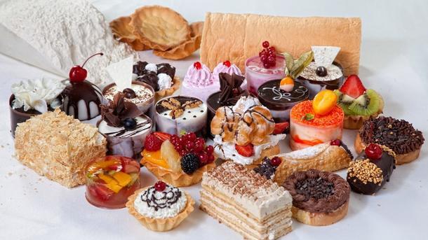 Ассорти пирожных