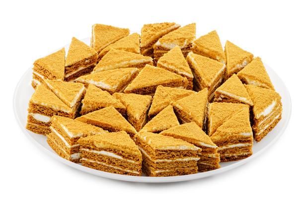 Пирожные Медовик