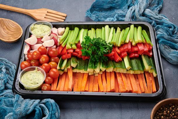 Овощи крудите
