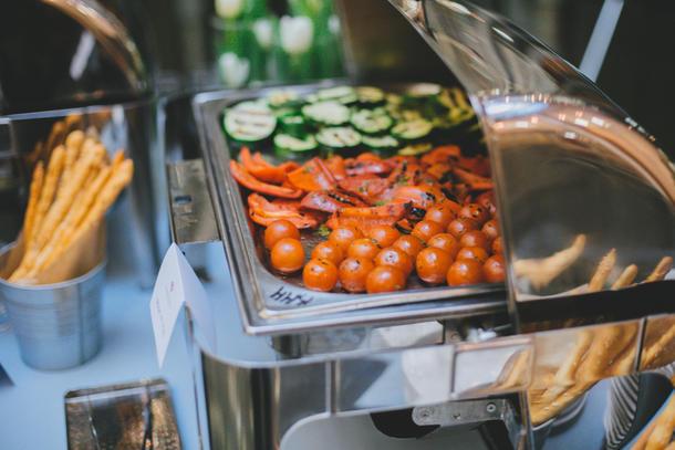 Овощи-гриль на шпажке