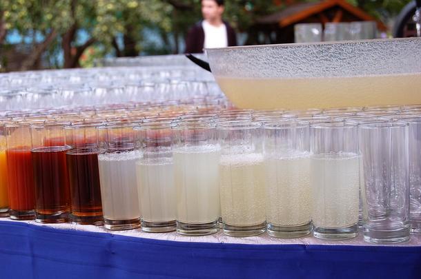 Бокалы для безалкогольных напитков