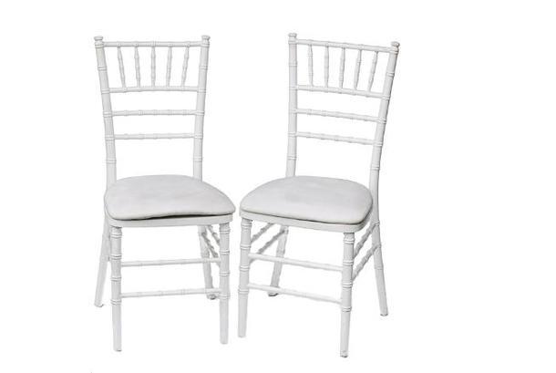 Аренда стульев ( Кьявари белый )